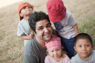 Photo of Joseph & kids in Nicaragua