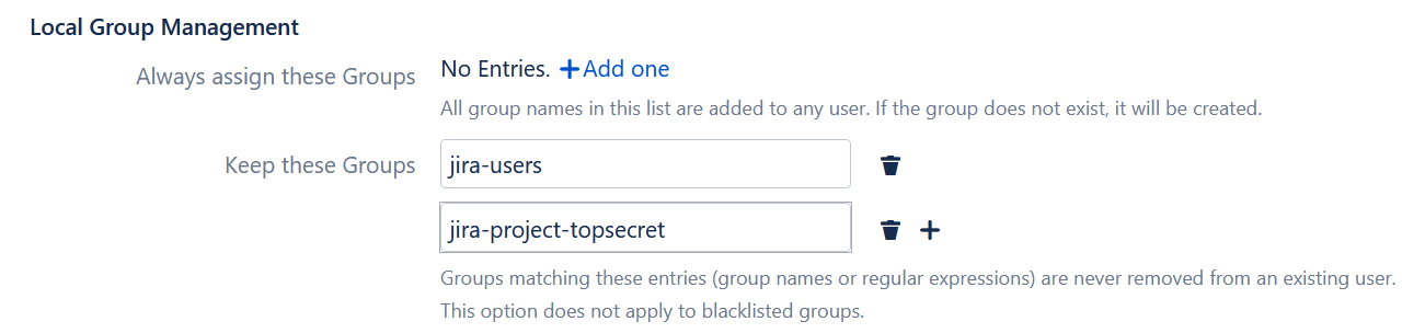 keep groups