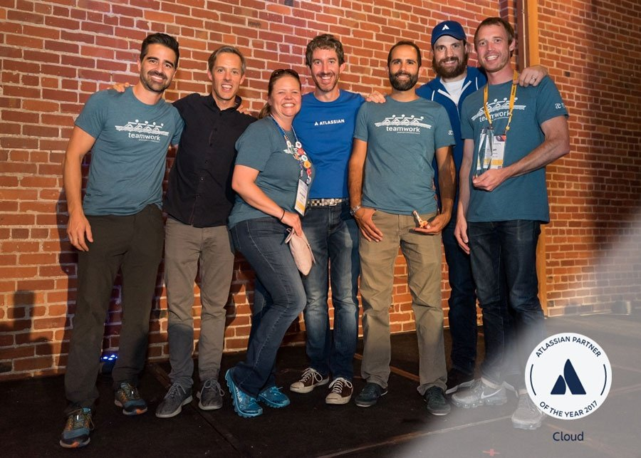 At the 2017 Atlassian Summit, Praecipio Consulting wins an Atlassian Partner of the Year award for the third consecutive year
